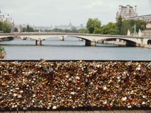 Rae Greer- Love Lock Bridge in Paris, France