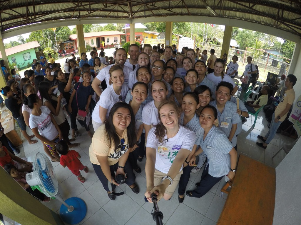 Community Service Winner : Kristen Holwick in the Philippines