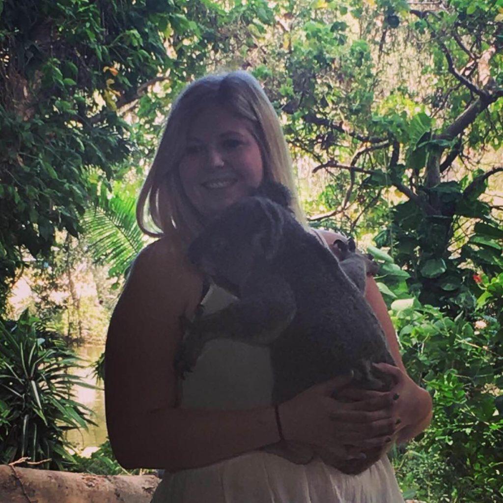 Australia Bond- Bailey Eames Burleigh at wildlife currumbin sanctuary