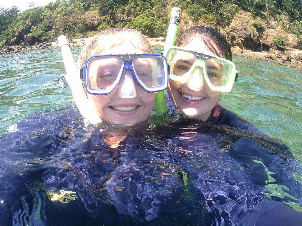Australia Bond- Bailey Eames, Corey Conroy on the Great Barrier Reef
