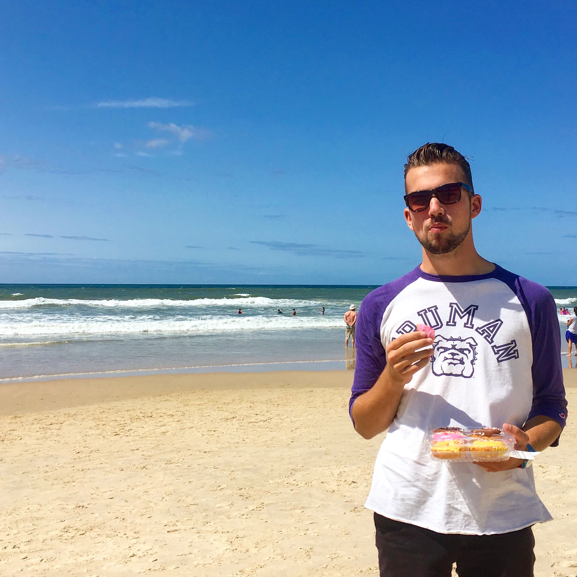 Truman student, Caleb Janssen, studying abroad in Australia