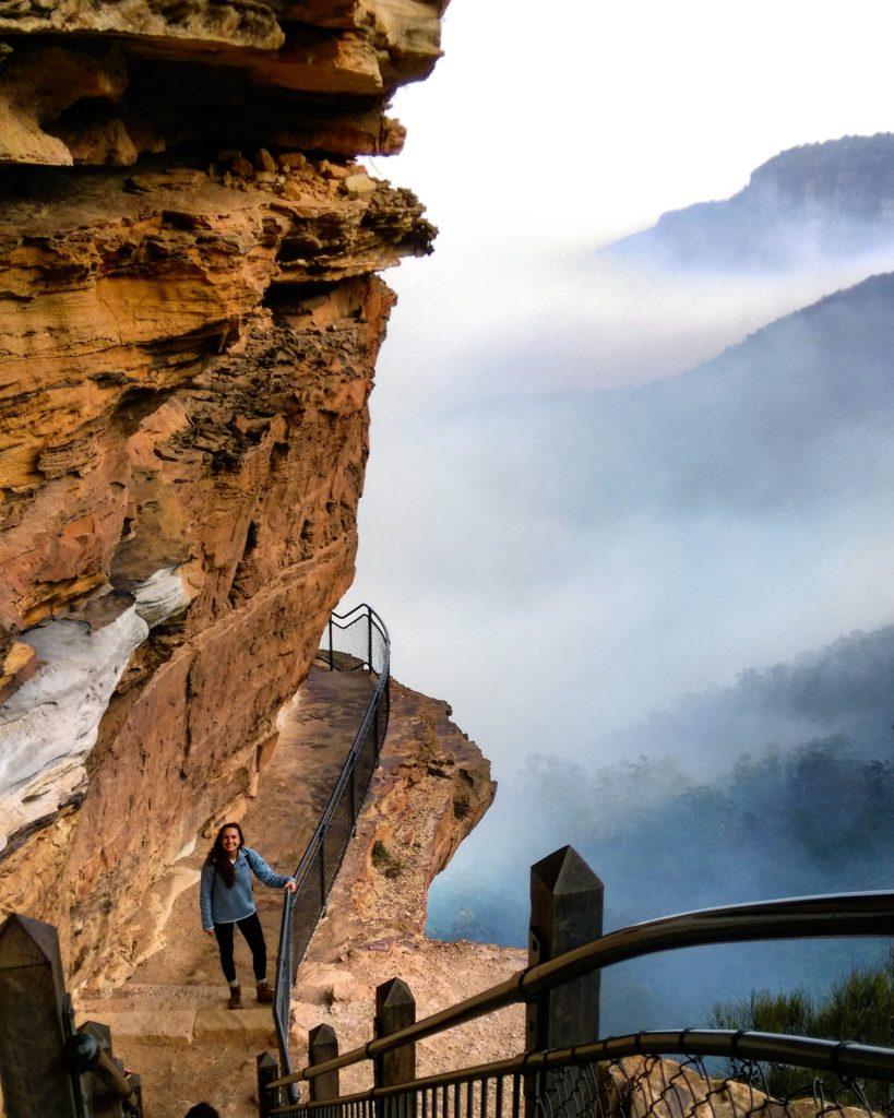 Australia Newcastle- Maxine Peat at Blue Mountain