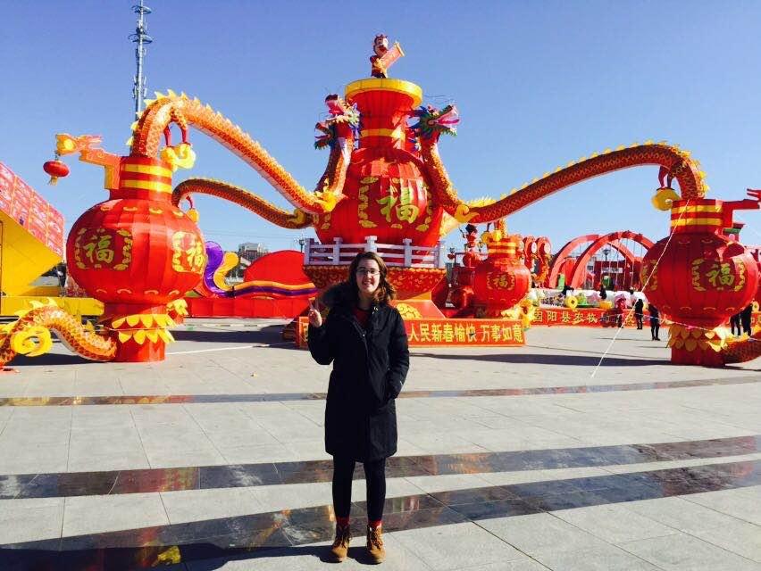 China ISEP- Stephanie Gruetze; Chinese New Year