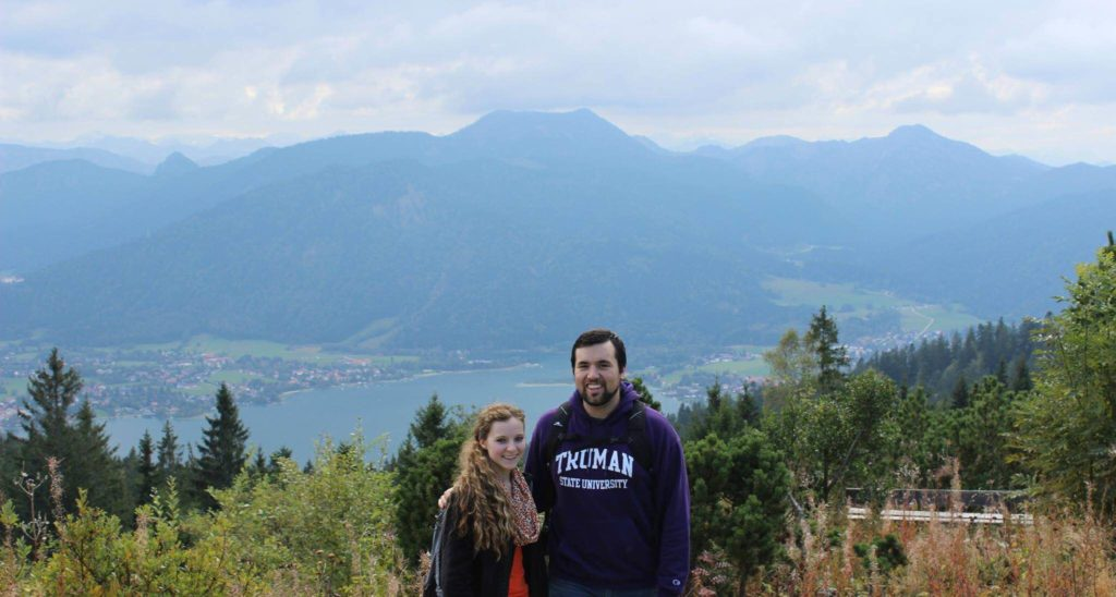 Germany- Austin Kerns, Emily Harvey Tegernsee in the Alps south of Munich