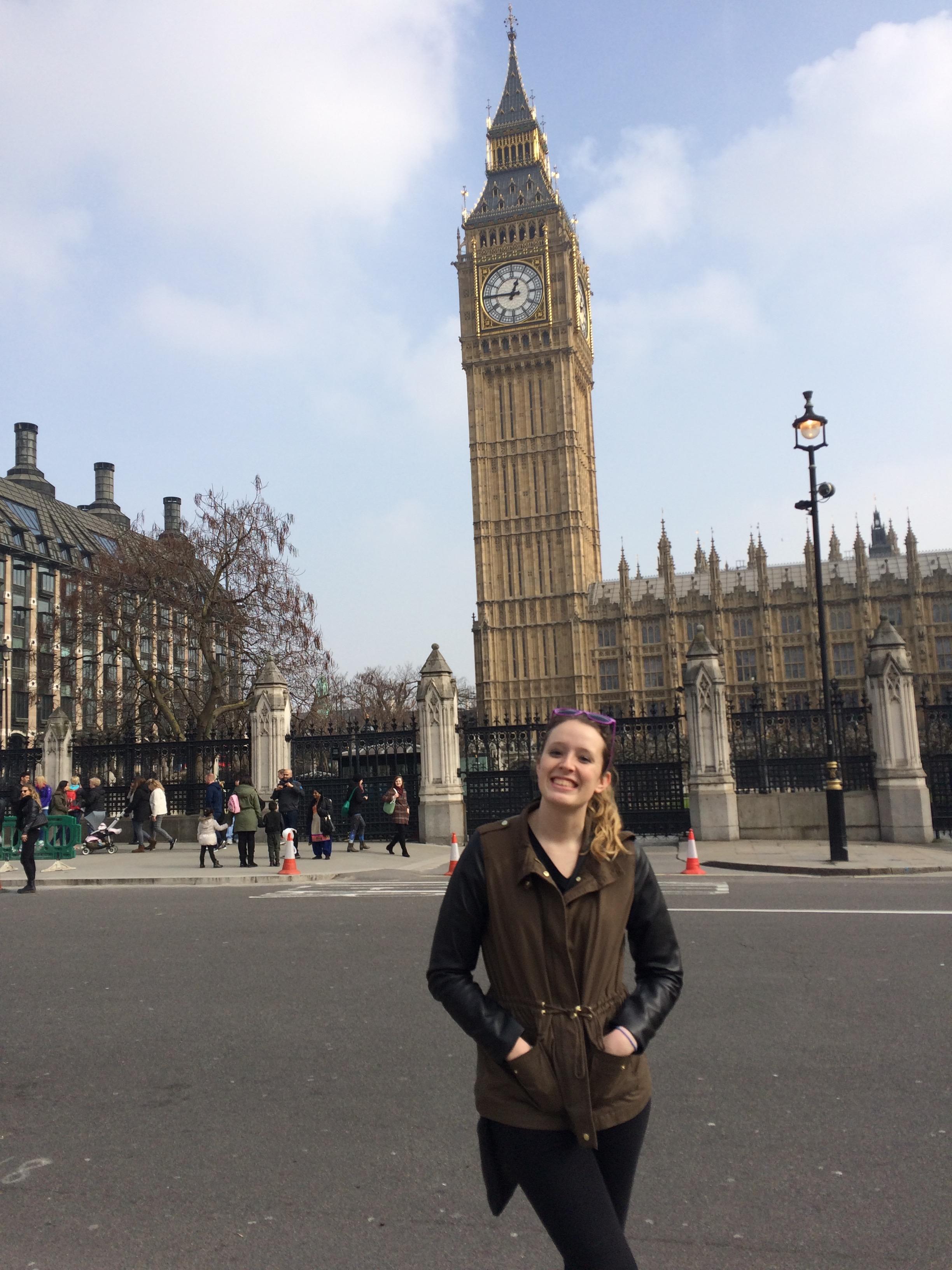 Ireland Maynooth- Madeleine Vande Polder in London, England
