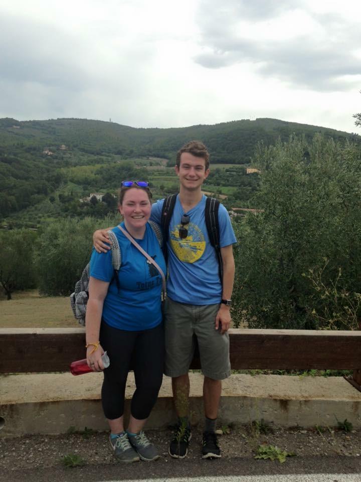 Italy Florence- Anne Weis, Mason Bracken