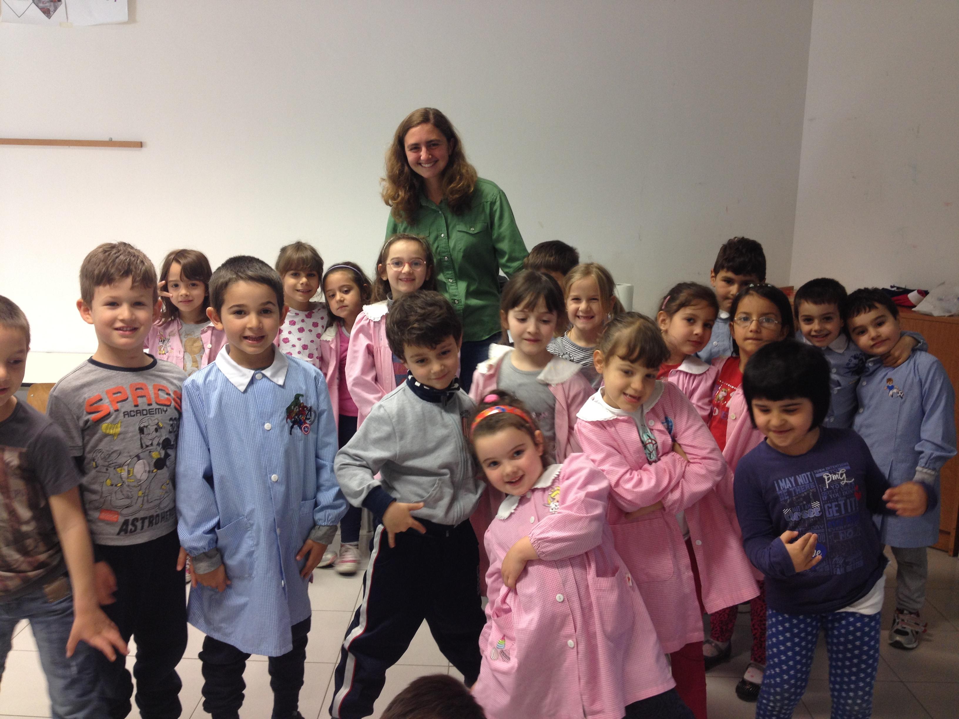 Italy Tuscania- Megan Matheney volunteered at an Italian preschool teaching English