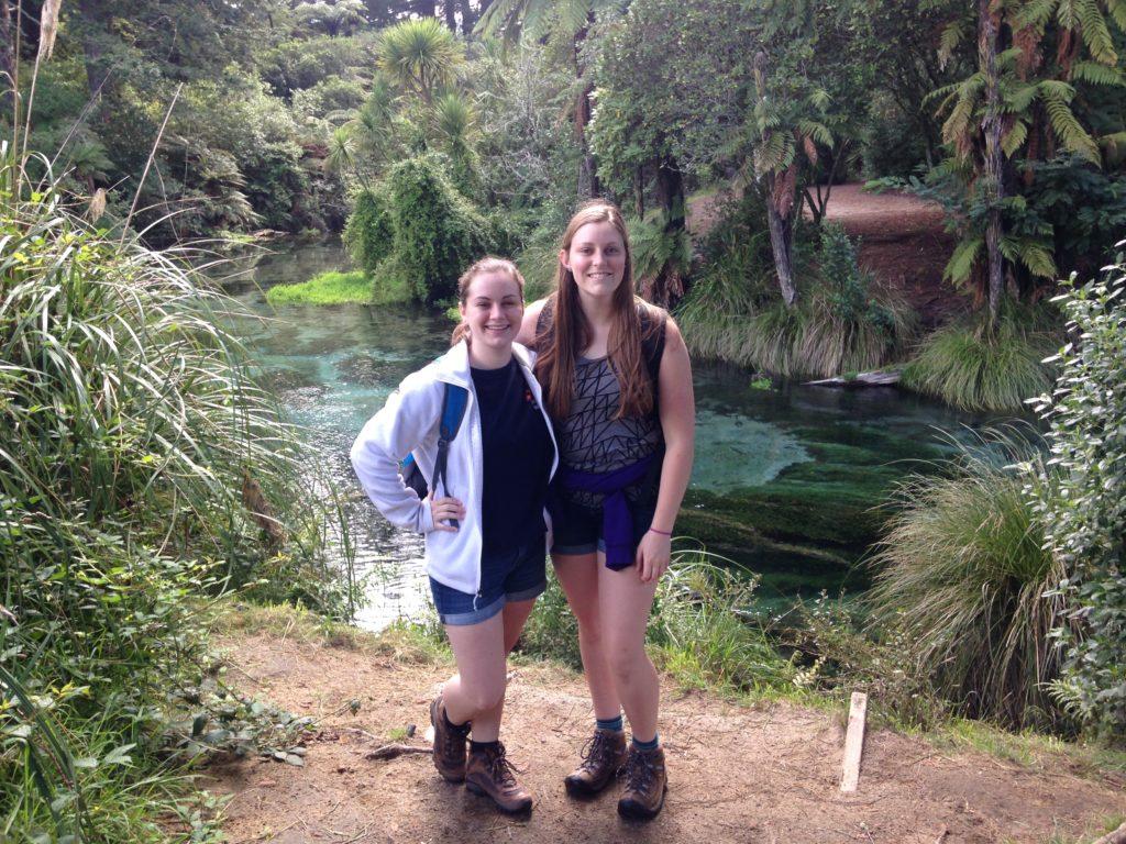 New Zealand Waikato- Caroline Blazer, Abigail Whitson; Hamurana Springs