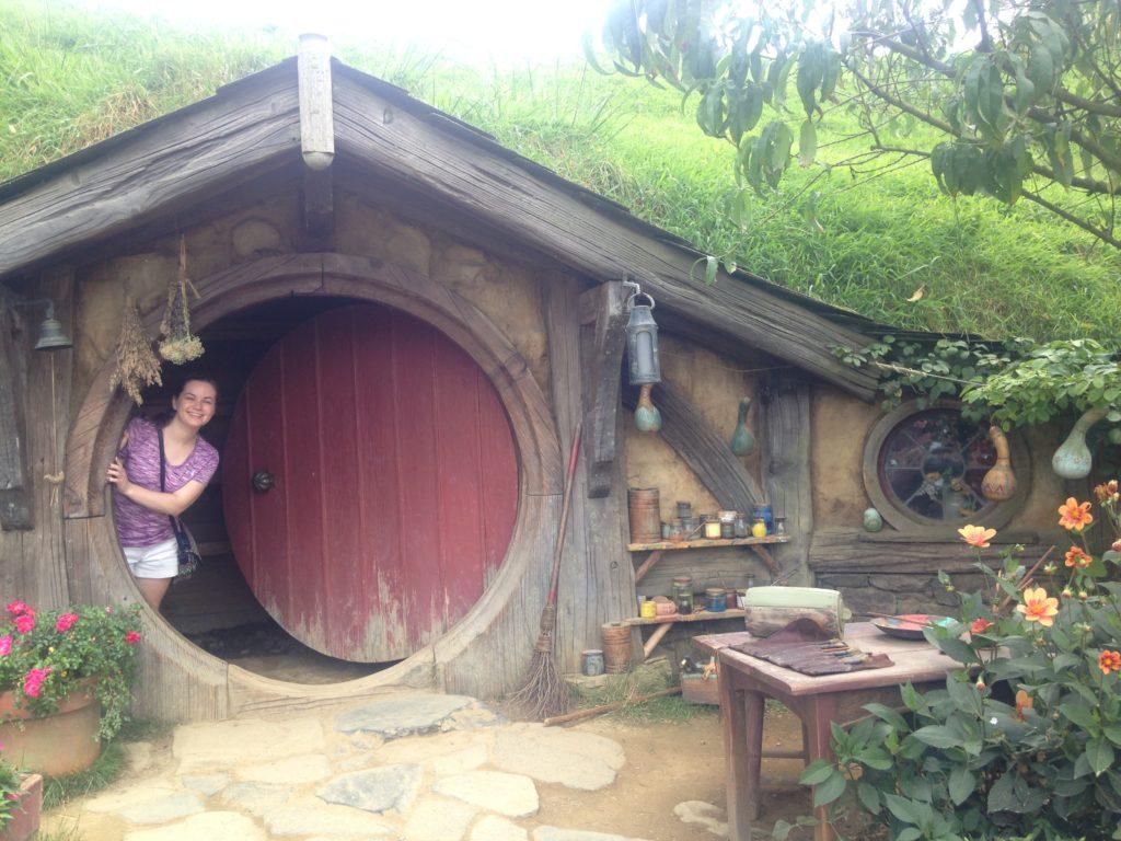 New Zealand Waikato- Caroline Blazer at Hobbiton
