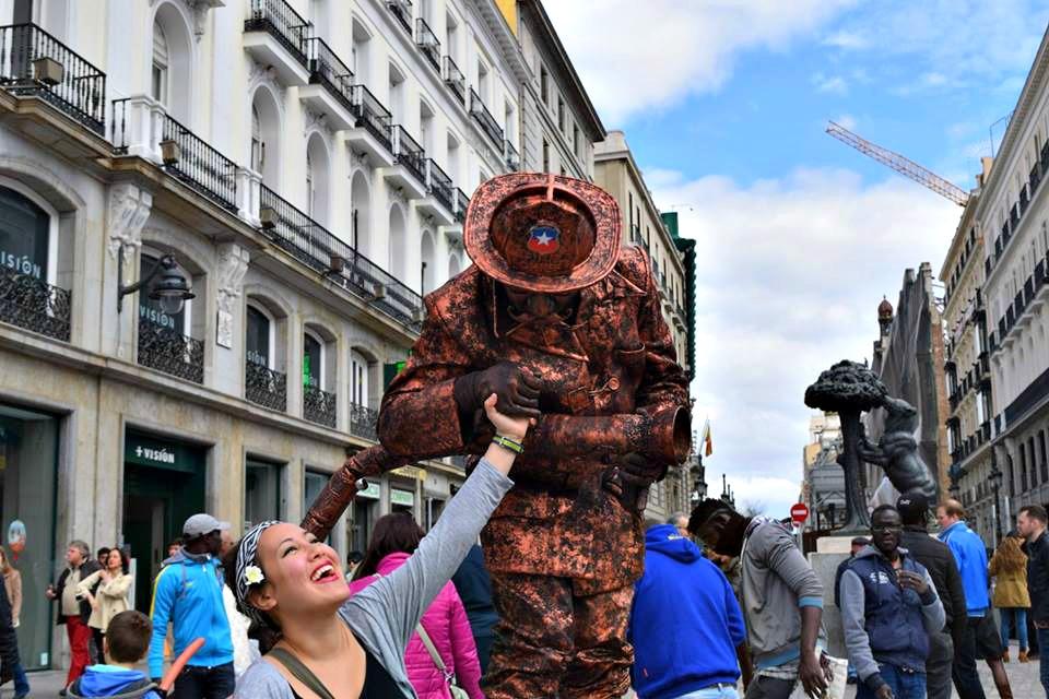 Spain Burgos- Keilah Sullivan in Madrid