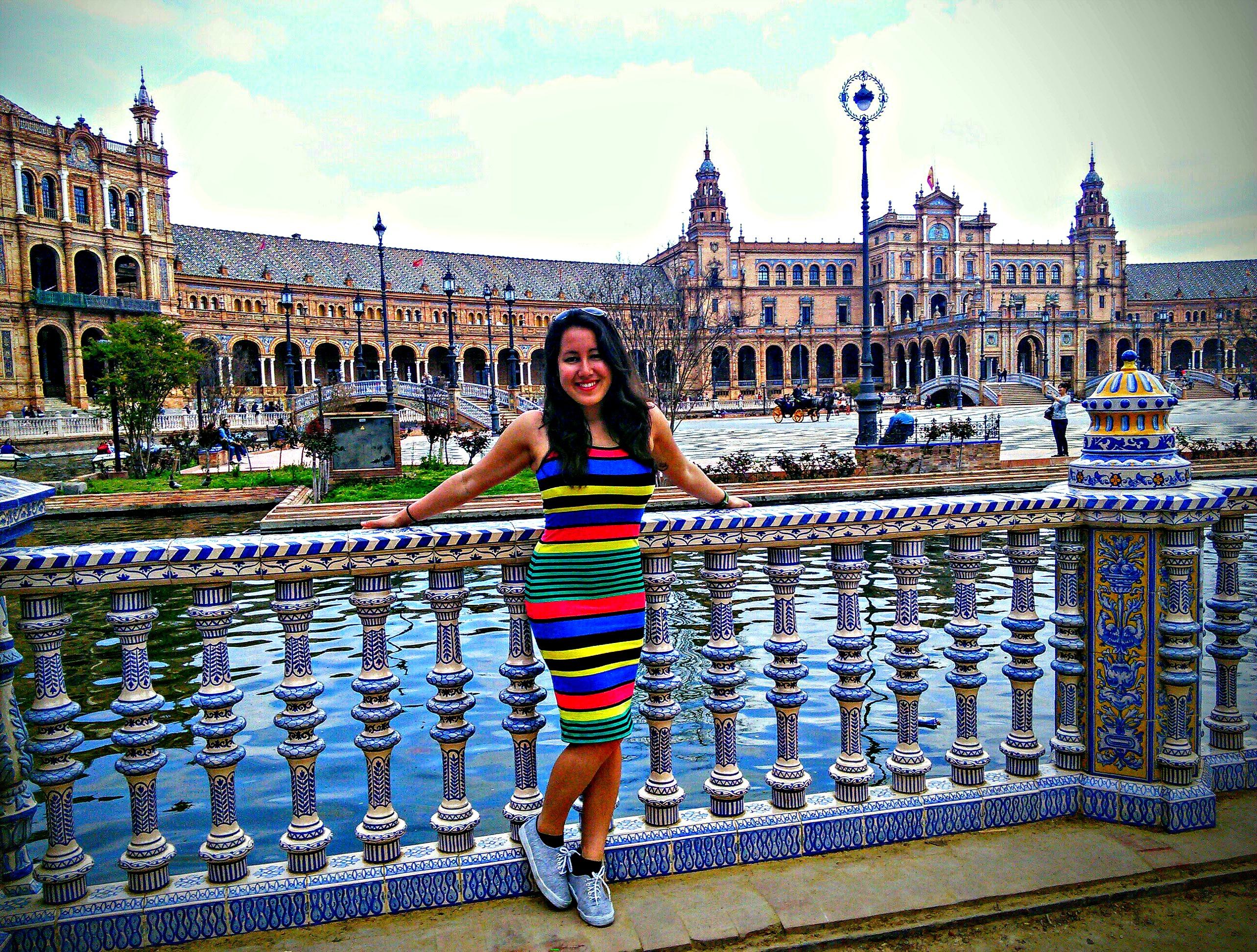 Spain Burgos- Keilah Sullivan in Seville