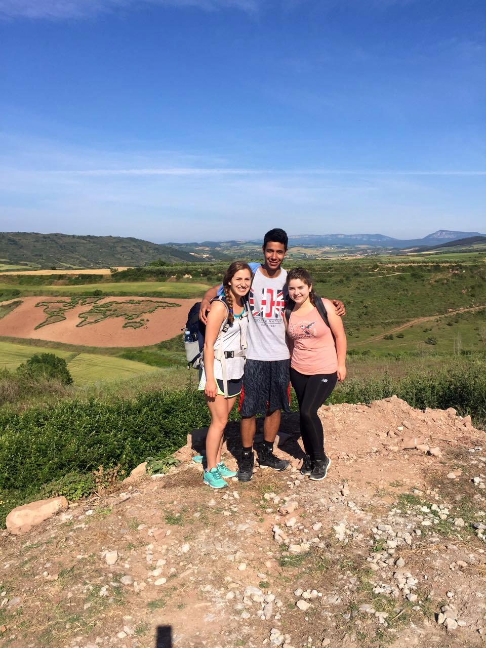 Spain ISEP- Leah Bell in el Camino de Santiago